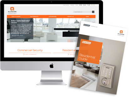 Browse the Allegion range